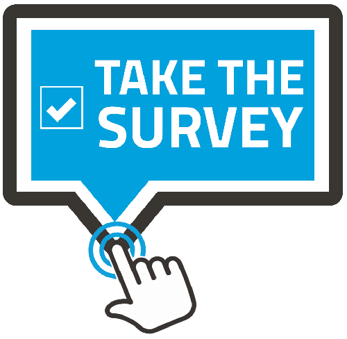 Take the survey button